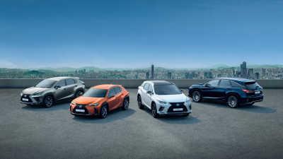 Nytt rekordår för Lexus