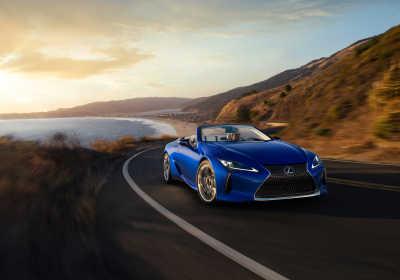 Världspremiär för Lexus LC 500 Convertible
