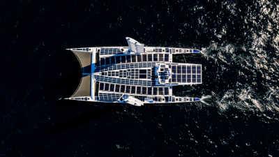 Över världens alla hav med bränsleceller från Toyota