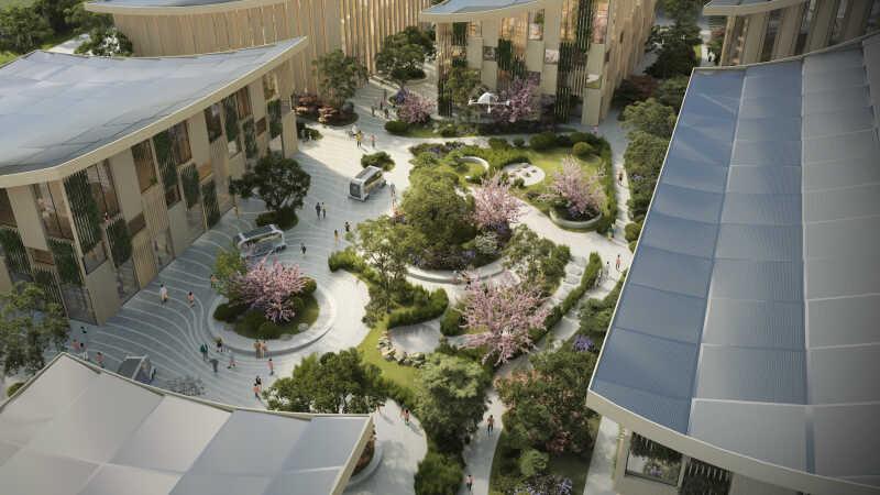 Woven City –så växer Toyotas prototypstad fram