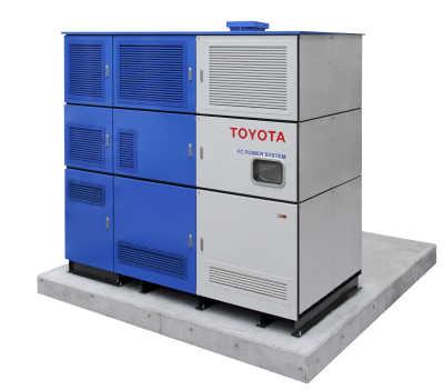 Tokuyama och Toyota sluttestar nya stationära bränslecellsgeneratorer