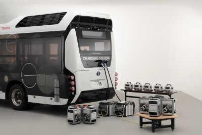 Toyota och Honda inleder tester av portabel elförsörjning med bränsleceller
