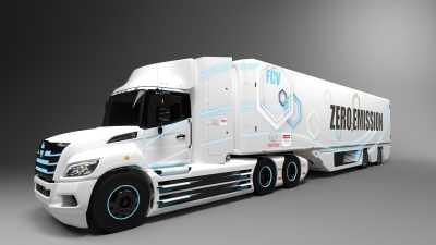 Toyota utvecklar bränslecellsdriven lastbil