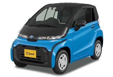 Här kommer C+ pod – en ultrakompakt elbil