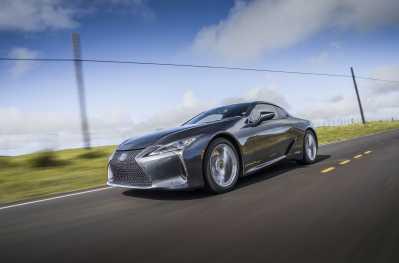 10 fantastiska fakta om uppdaterade Lexus LC Coupé
