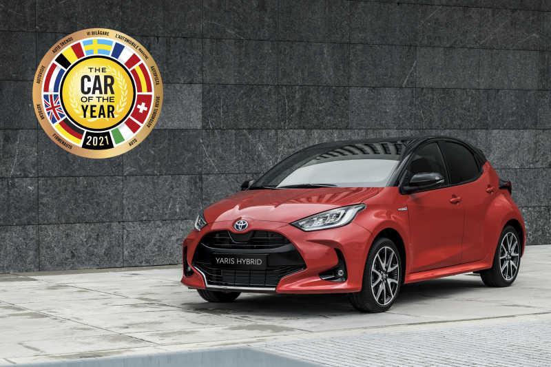 Toyota Yaris är Årets Bil 2021