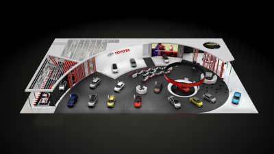 Innovativt Toyota visar framtiden på bilsalongen i Paris