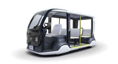 """Toyota stöttar Tokyo 2020 med specialutvecklat """"APM""""-mobilitetsfordon"""