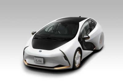 Toyota LQ: En konceptbil för smarta autonoma resor