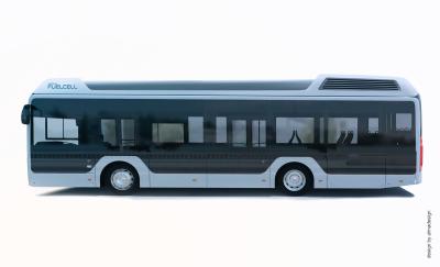 Toyota tar nästa steg mot nollemission: Förser europeisk busstillverkare med teknik för vätgas
