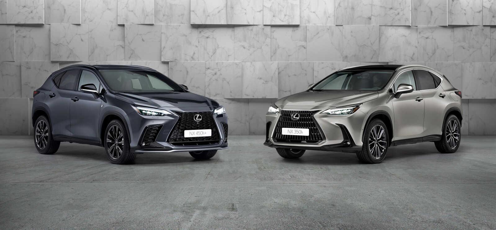 Lexus NX 350h & NX 450h+