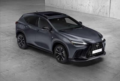 Världspremiär: Helt nya Lexus NX 350h och 450h+