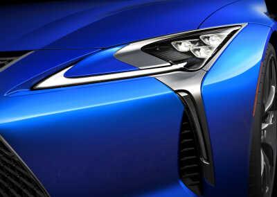 Lexus jakt på den perfekta lacken