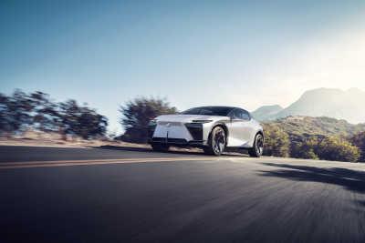 Nya Lexus LF-Z Electrified visar ny era för Lexus