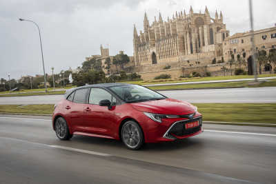 Toyotas försäljning återhämtar sig