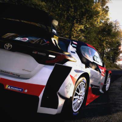 Nya GR Yaris Rally Concept startklar i tv-spelet WRC 9