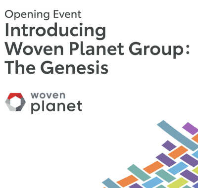 Woven Planet Group bjuder in till digital presentation