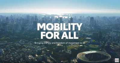 Toyota levererar mobilitet till Olympiska och Paralympiska spelen i Tokyo 2020