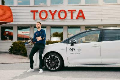 Svenska atleter sponsras av Toyota inför Olympiska och Paralympiska spelen
