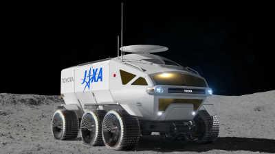 JAXA och Toyota utvecklar bemannat rymdfordon