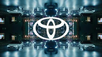 Ny visuell identitet med uppdaterad Toyota-logotyp