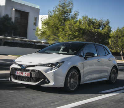 Toyota nådde rekordstor marknadsandel i Europa 2020