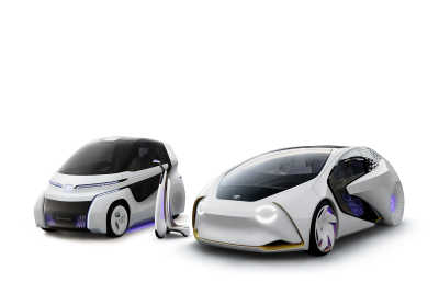 Toyota visar tre spännande mobilitetskoncept på Tokyo-salongen