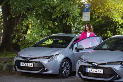 Succé för ny bildelning – KINTO Share till fler stadsdelar