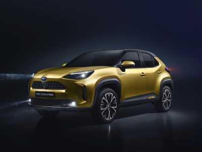 Världspremiär för nya Toyota Yaris Cross Hybrid