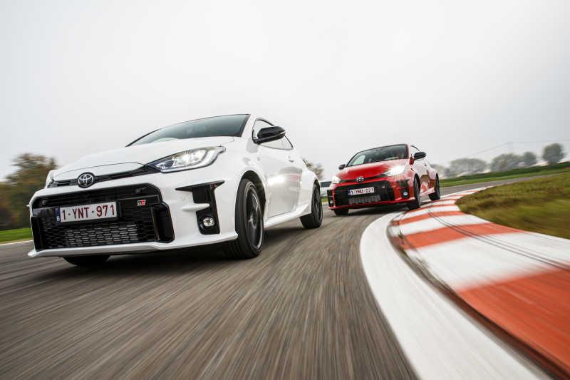 Rallybil för vanliga vägar: Toyota GR YARIS