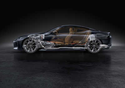 Lexus LC 500h, 2020