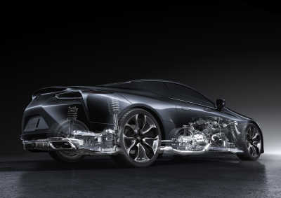 Lexus LC 500, 2020