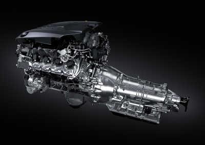 Lexus LC 500 2020, motor
