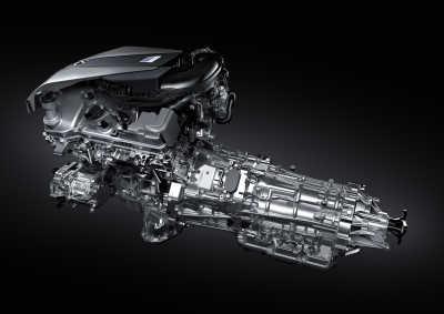 Lexus LC 500h motor, 2020