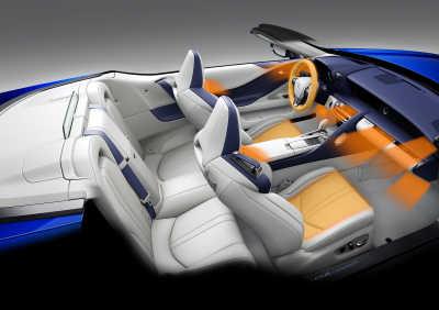 Lexus LC Convertible: Fångar vinden för bästa komfort