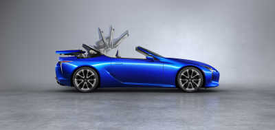 Lexus LC Convertible: Att skapa den perfekta suffletten
