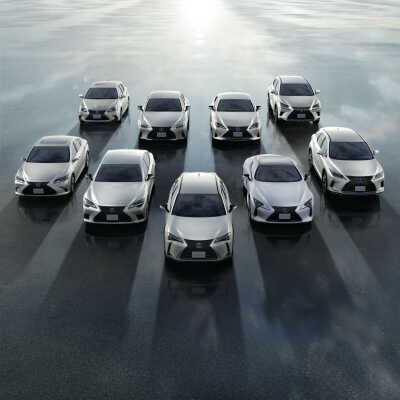 Två miljoner elektrifierade fordon från Lexus sedan 2005