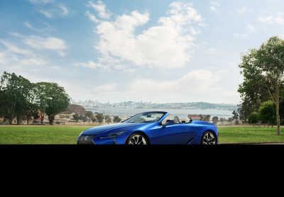 Lexus LC Convertible: Absolut skönhet personifierad