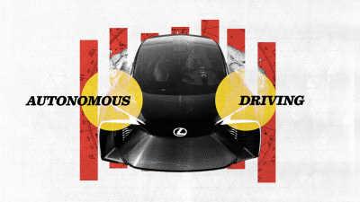 Lexus och TED Fellows skissar på självkörande teknik med mänsklig touch