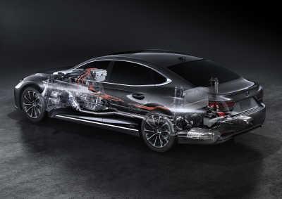 Mjukare acceleration i nya Lexus LS 500h