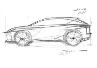 Lär dig teckna med Lexus designchef