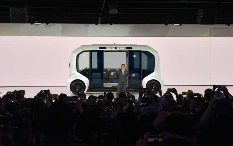 Från biltillverkare till mobilitetsleverantör – så ställer TOYOTA om