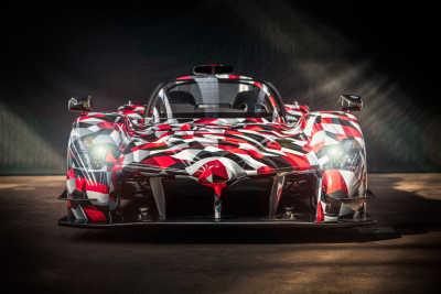 Hyperbilen GR Super Sport visade sig i Le Mans
