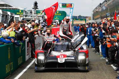 TOYOTA GAZOO Racing gör hattrick på Le Mans – tar tredje segern