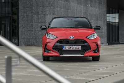 Toyotas försäljning i Europa överträffar marknaden